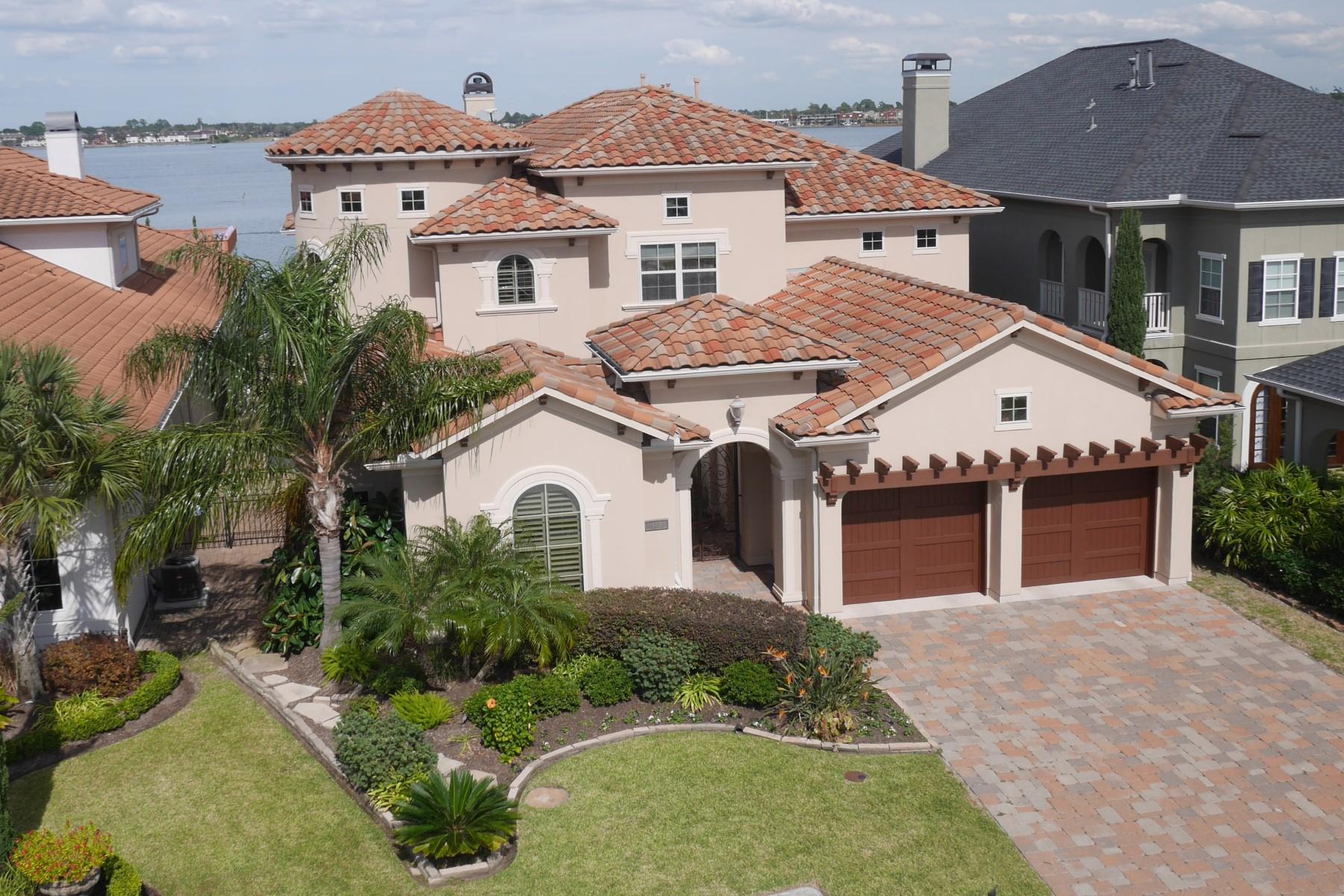 Maison unifamiliale pour l Vente à 103 Blue Water Way League City, Texas 77565 États-Unis