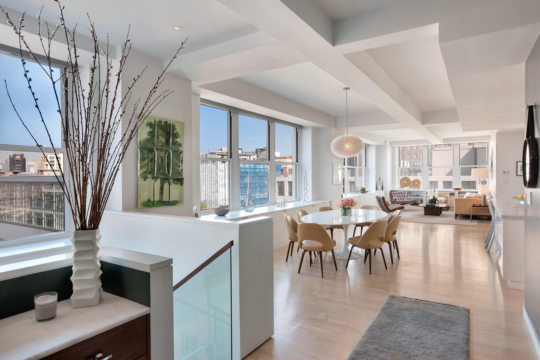 Condominium for Sale at 25 North Moore Street, 10/11C 25 North Moore Street Apt 10/11C Tribeca, New York, New York, 10013 United States