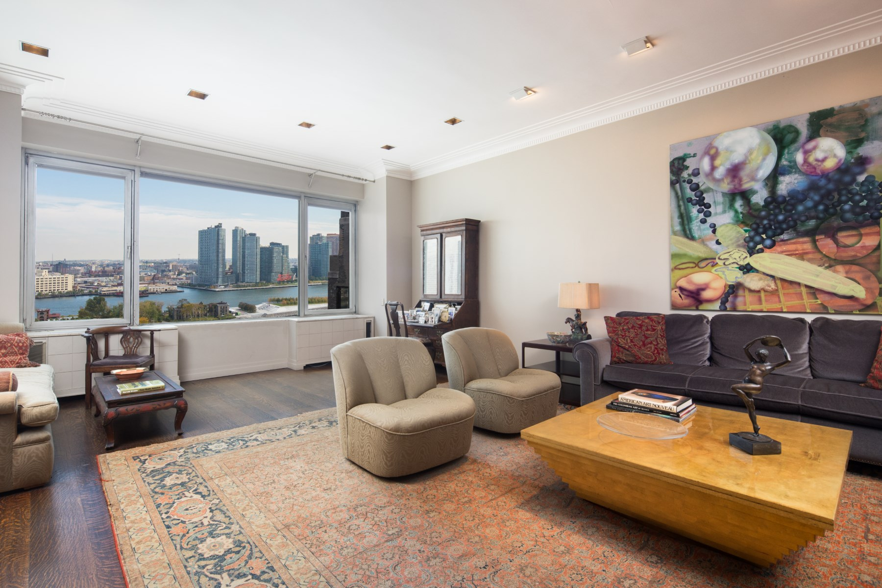 Copropriété pour l Vente à River House Penthouse with Terraces 435 East 52nd Street Apt 14/15/16D Midtown East, New York, New York, 10023 États-Unis