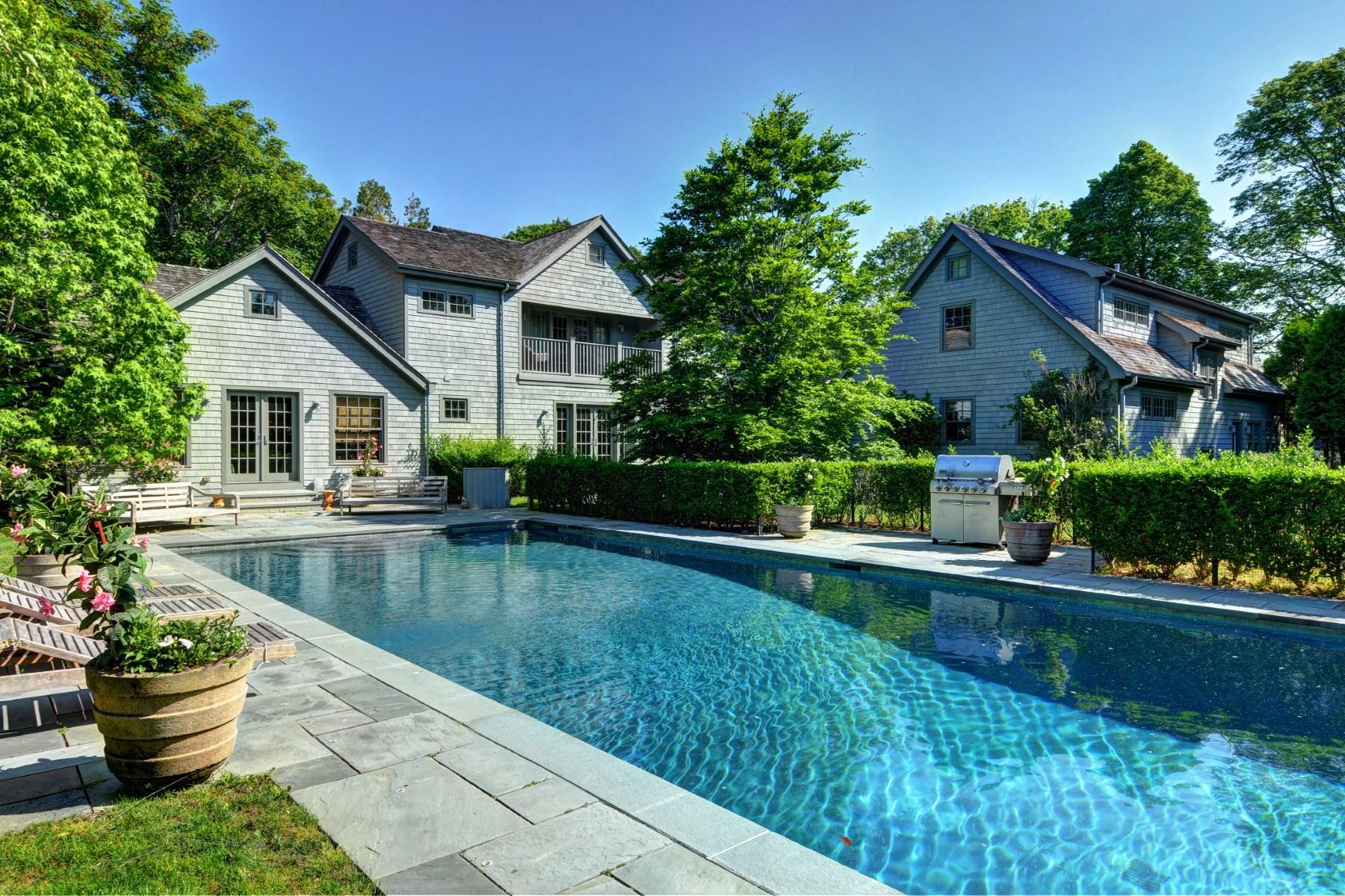 獨棟家庭住宅 為 出售 在 Amagansett Lanes 36 Hedges Lane Amagansett, 紐約州 11930 美國