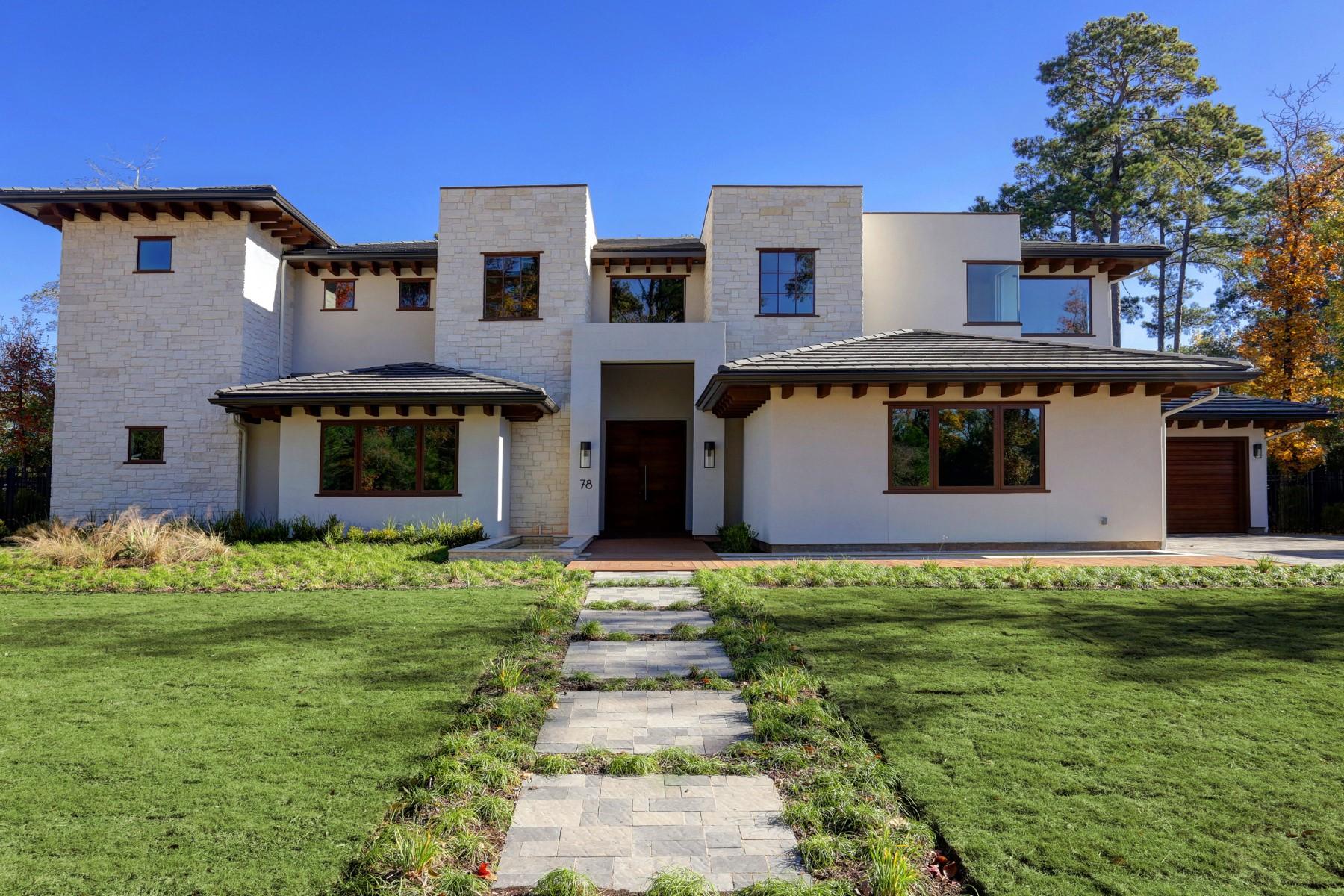 Casa Unifamiliar por un Venta en 78 S Badger Lodge Circle The Woodlands, Texas 77389 Estados Unidos