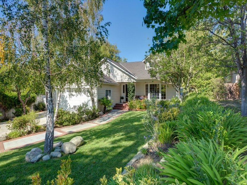 Property For Sale at Cape Cod Inspired Charmer in La Canada