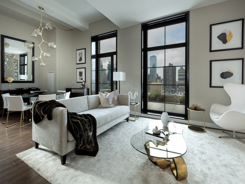 Condomínio para Venda às 425 West 50th Street, Apt 10C 425 West 50th Street Apt 10c New York, Nova York 10019 Estados Unidos