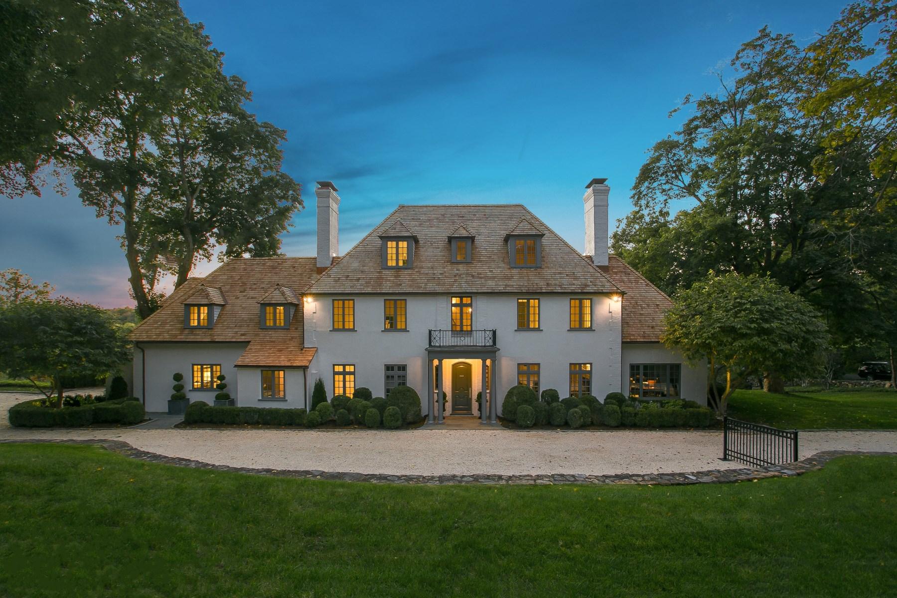 Casa para uma família para Venda às 404 Round Hill Road Greenwich, Connecticut 06831 Estados Unidos