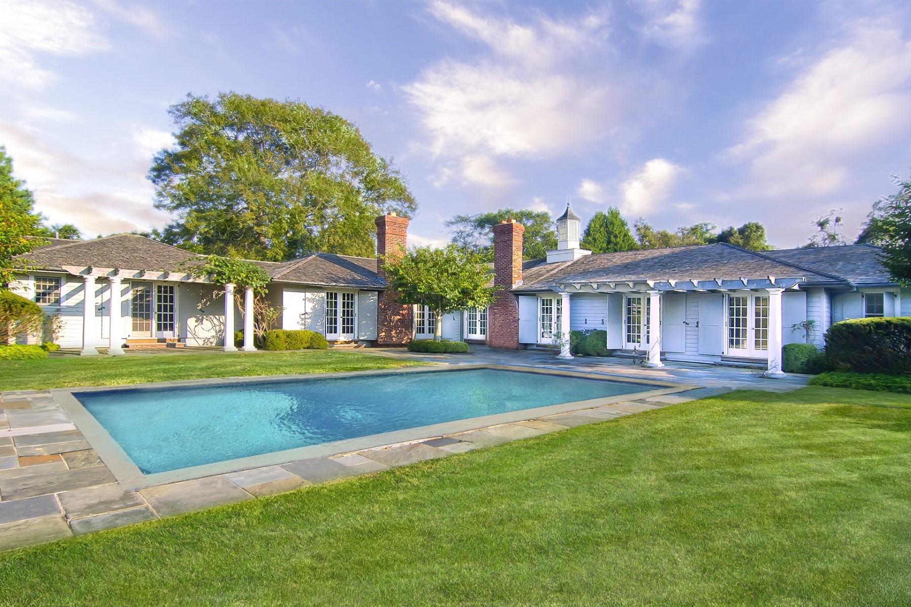 Single Family Home for Rent at East Hampton Village Living 70 Woods Lane East Hampton Village, East Hampton, New York 11937 United States