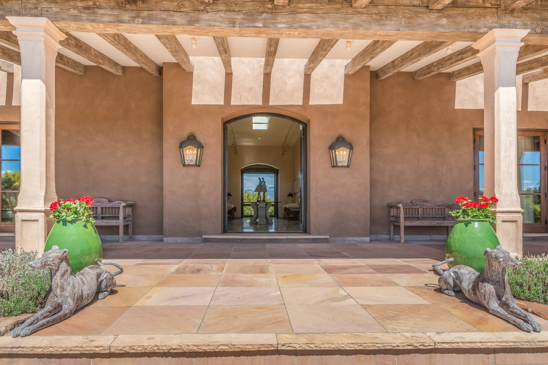 Single Family Home for Sale at Hacienda Bella Vista Santa Fe, New Mexico, 87506 United States