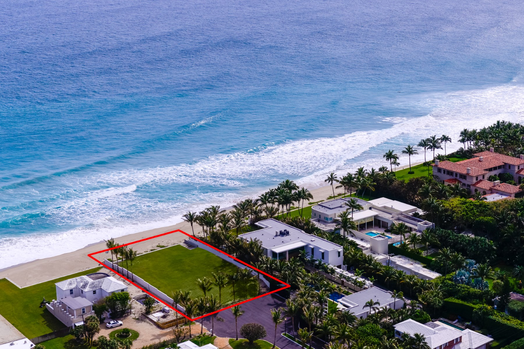 地產 為 出售 在 Prime Direct Oceanfront Land North End, Palm Beach, 佛羅里達州, 33480 美國