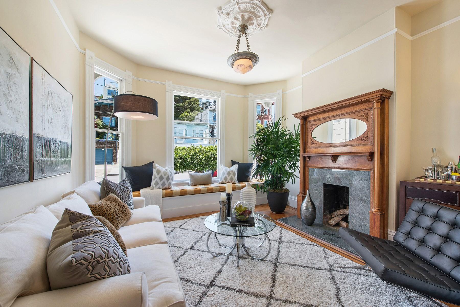 Casa para uma família para Venda às Amazing Home in Sunny Potrero Hill 1348 Rhode Island St Bernal Heights, San Francisco, Califórnia 94107 Estados Unidos
