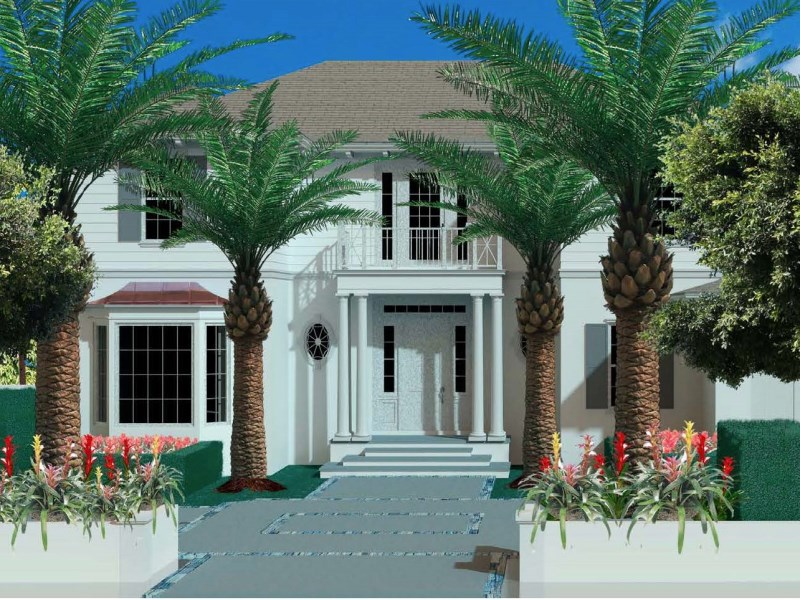 Casa para uma família para Venda às North End New Construction 264 Country Club Rd North End, Palm Beach, Florida 33480 Estados Unidos