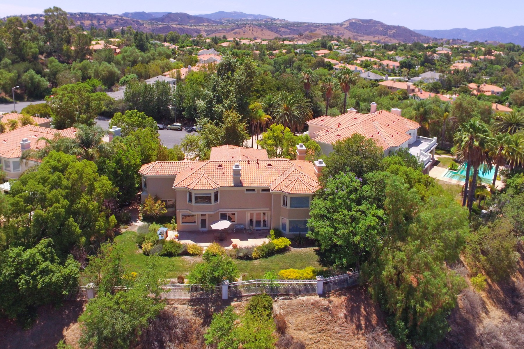 Single Family Home for Sale at Calabasas View Estate 25619 Melbourne Court Calabasas, California, 91302 United States