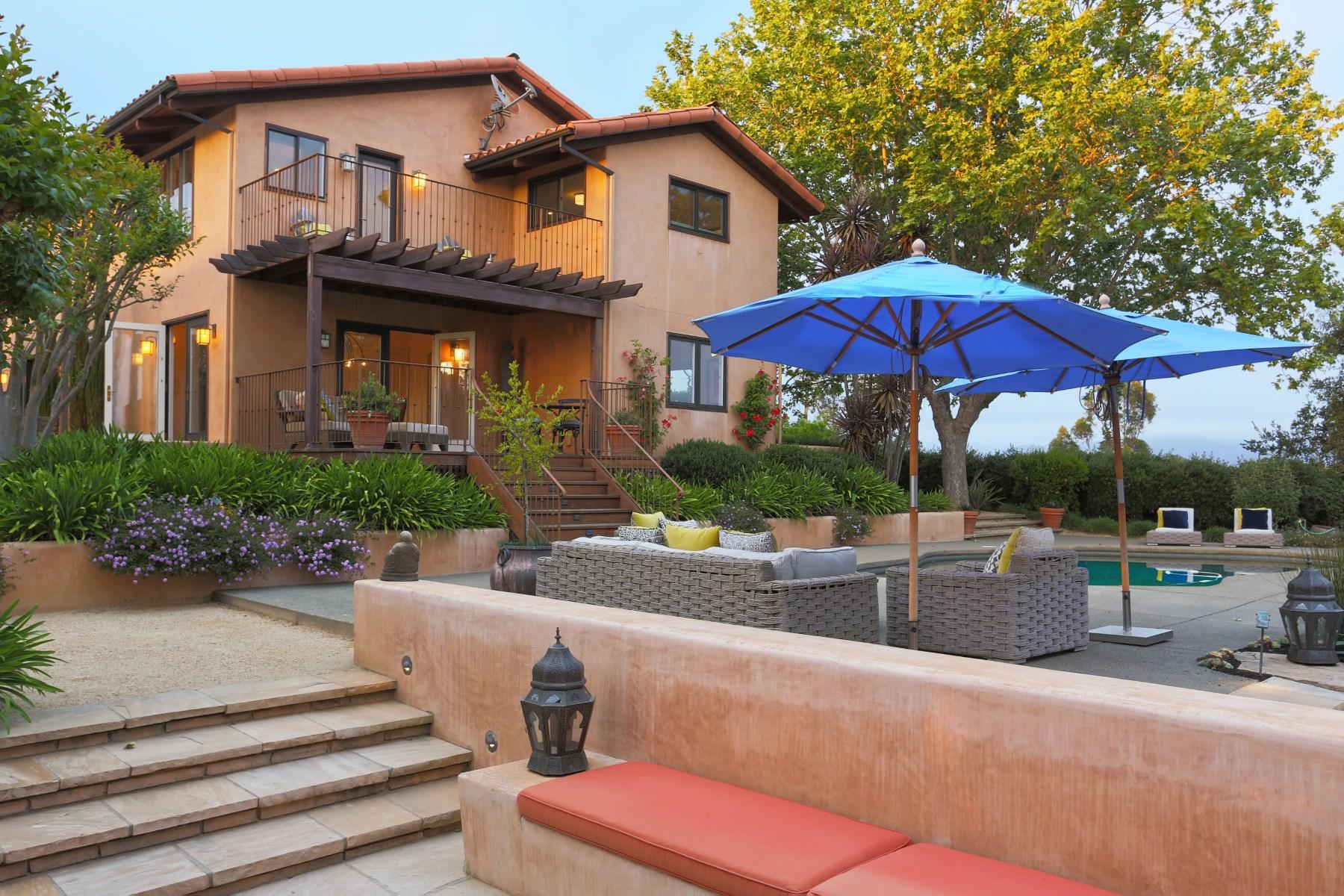 Casa para uma família para Venda às La Dolce Vita 700 Maybee Ln Healdsburg, Califórnia 95448 Estados Unidos