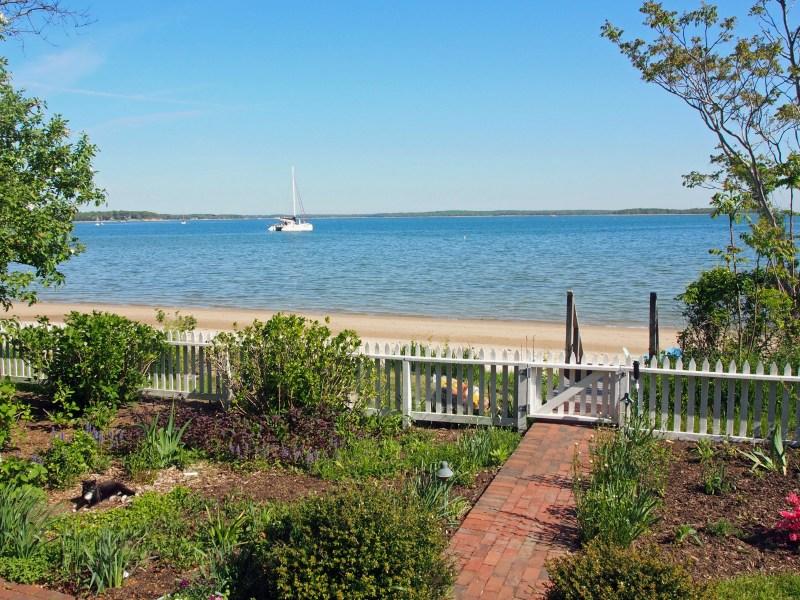 rentals property at Classic Bayfront Cottage in Sag Harbor