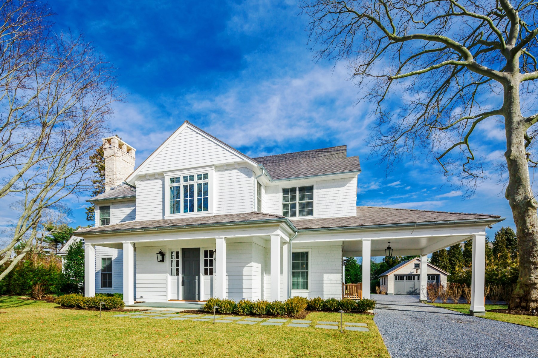 Single Family Home for Rent at Village New Construction, Guest Cottage Southampton, New York, 11968 United States