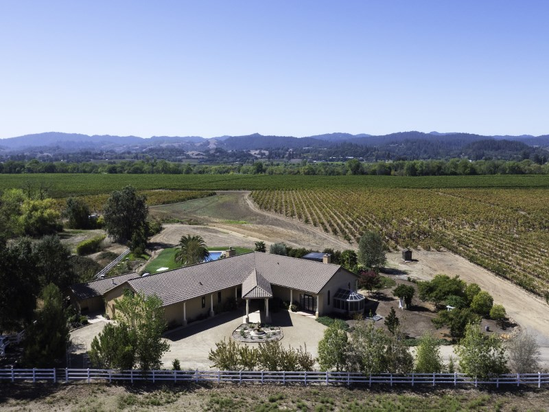 Single Family Home for Sale at Ponzo Vineyards and Estate - The Allure of a Legacy 12295 Old Redwood Hwy Healdsburg, California 95448 United States