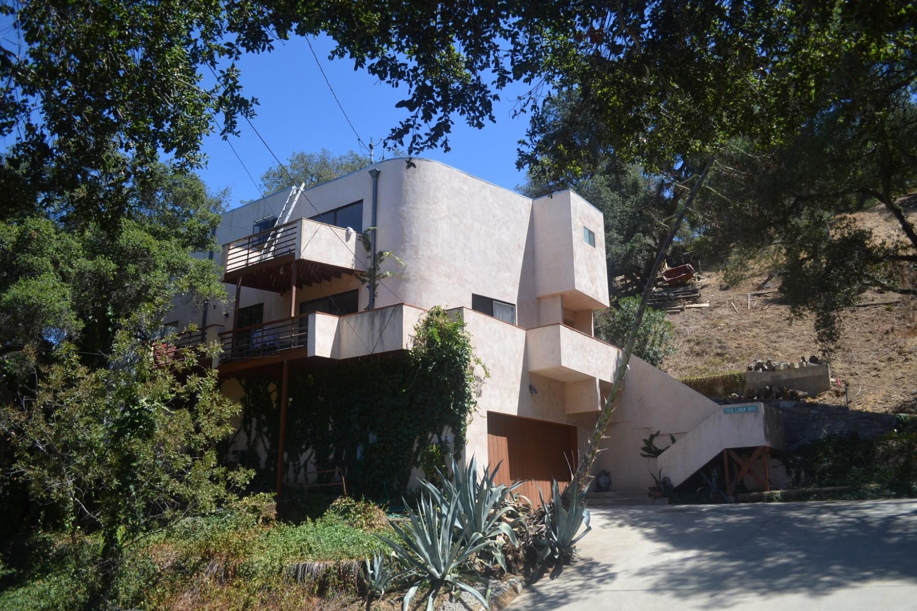 Casa para uma família para Venda às 21920 Colina Drive, Topanga Topanga, Califórnia, 90290 Estados Unidos