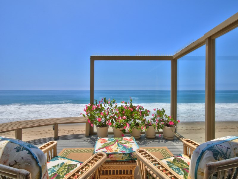 Property For Sale at Malibu's Billionaire Beach