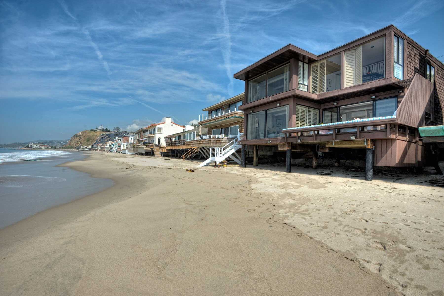 Single Family Home for Rent at Malibu Beach Home On The Sand 21468 Pacific Coast Hwy Malibu, California 90265 United States