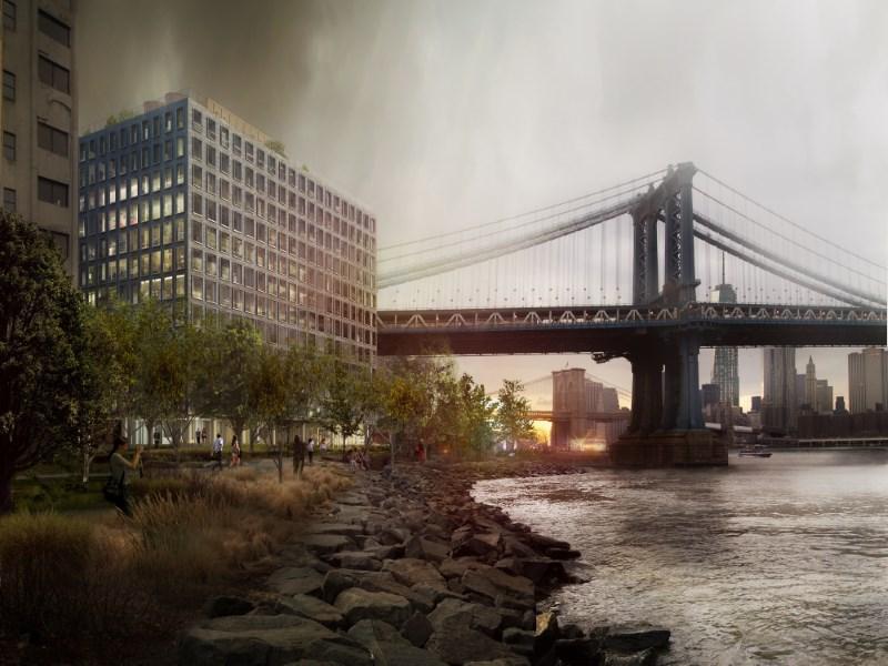 콘도미니엄 용 매매 에 1 John Street, PHD 1 John Street Apt Phd Dumbo, Brooklyn, 뉴욕 11201 미국