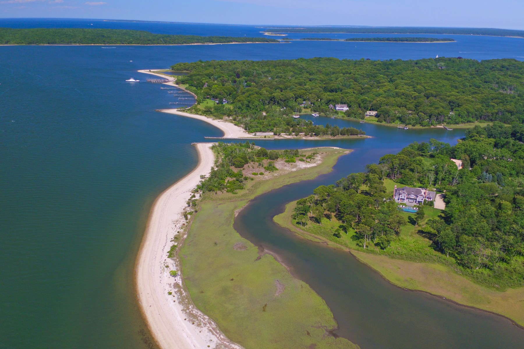 "Single Family Home for Sale at ""The Peninsula"" - A Boater's Paradise 38 Ezekills Holw Sag Harbor, New York, 11963 United States"