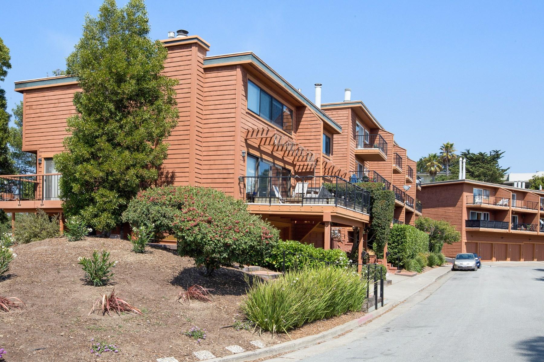 Appartement en copropriété pour l Vente à Point Sausalito 128 Stanford Way Sausalito, Californie, 94965 États-Unis