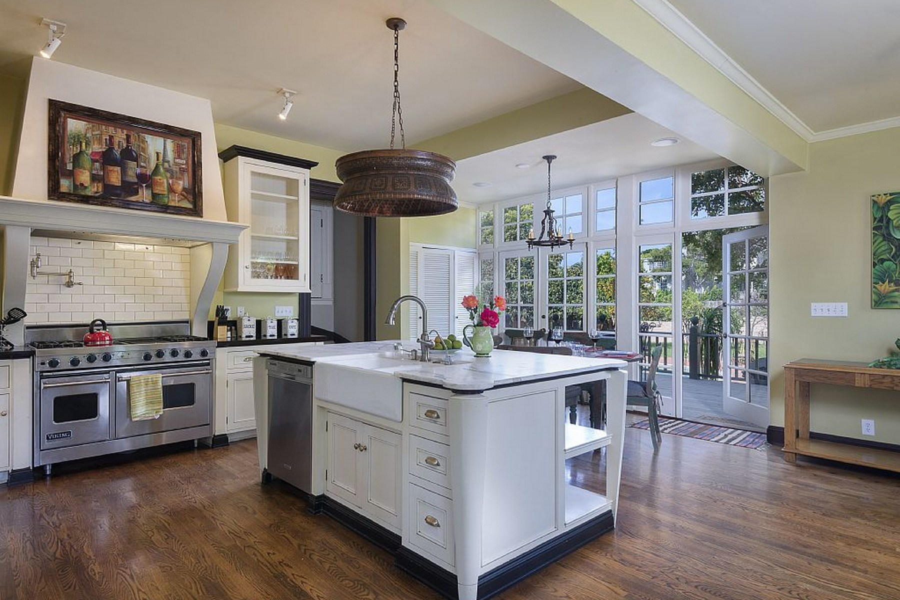 Single Family Home for Sale at Upper East Gated Estate 115 East Islay Street Santa Barbara, California, 93101 United States