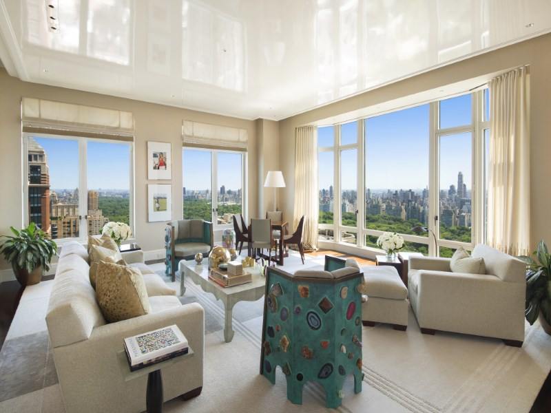 Appartement en copropriété pour l Vente à Coveted Corner Line at 15 CPW 15 Central Park West Apt 35d Upper West Side, New York, New York 10023 États-Unis