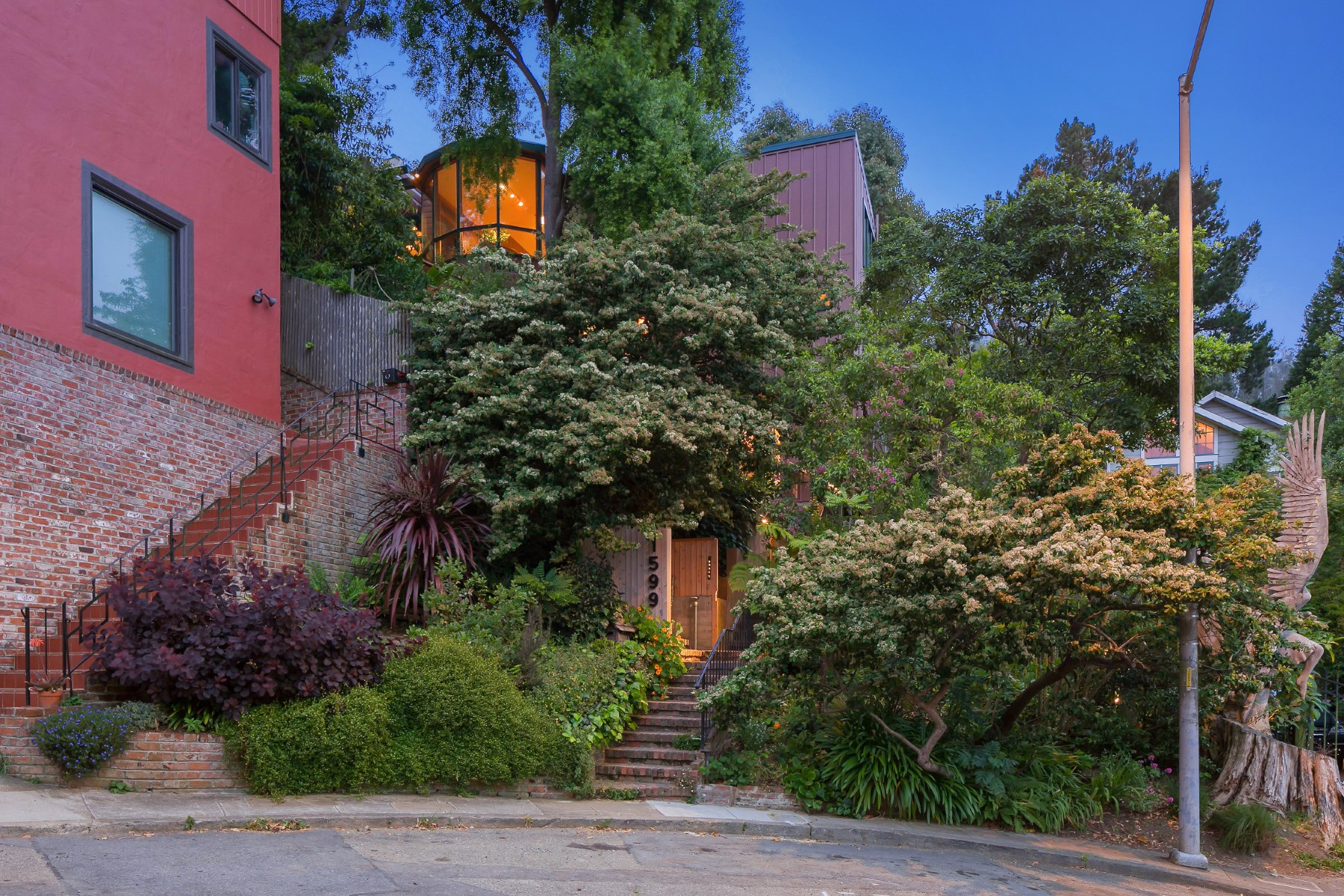 Single Family Home for Sale at Country Living in Cole Valley 1599 Shrader St Cole Valley, San Francisco, California, 94117 United States