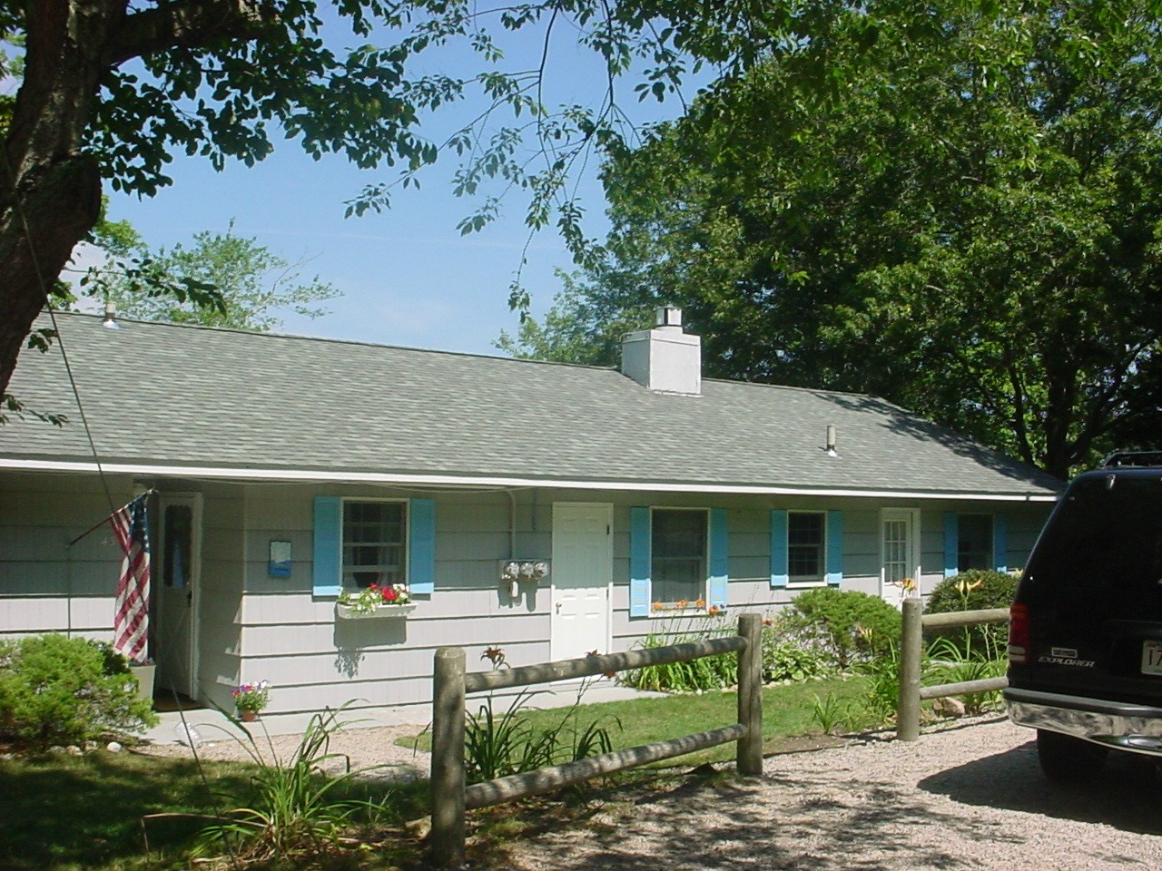 Single Family Home for Rent at Pretty Waterfront Ranch on Long Pond 43 Piney Point Drive Centerville, Massachusetts 02632 United States