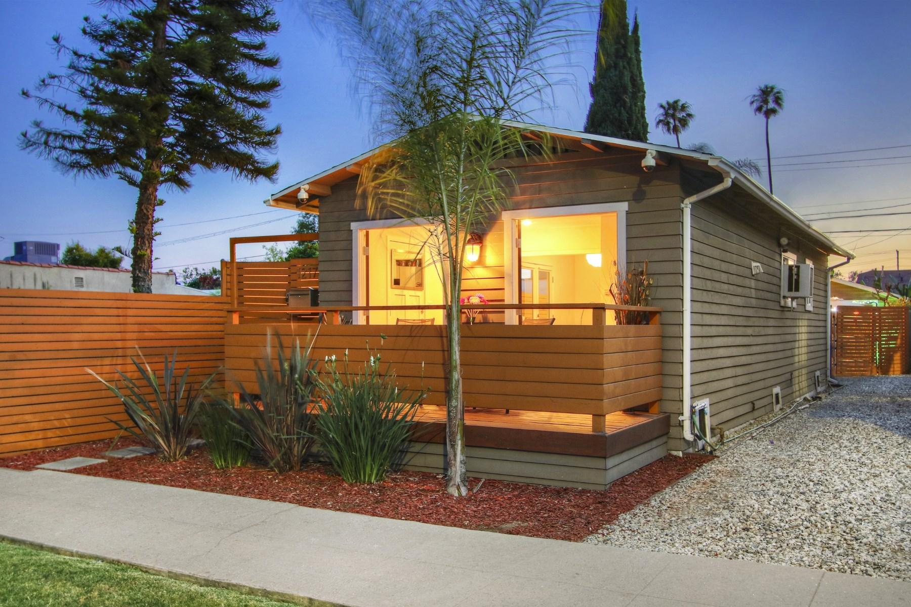 Частный односемейный дом для того Продажа на 1217 North Hoover Street Silver Lake, Los Angeles, Калифорния, 90029 Соединенные Штаты