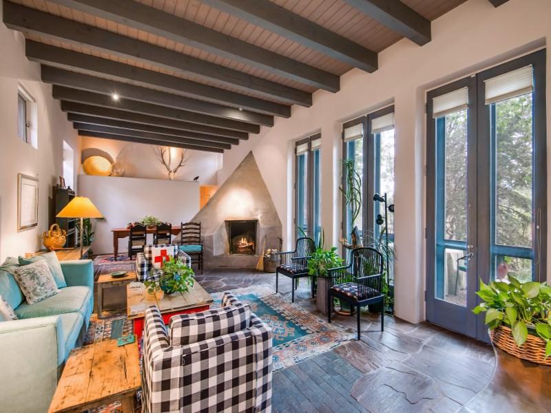 Single Family Home for Sale at 613 Camino Del Monte Sol Santa Fe, New Mexico 87505 United States