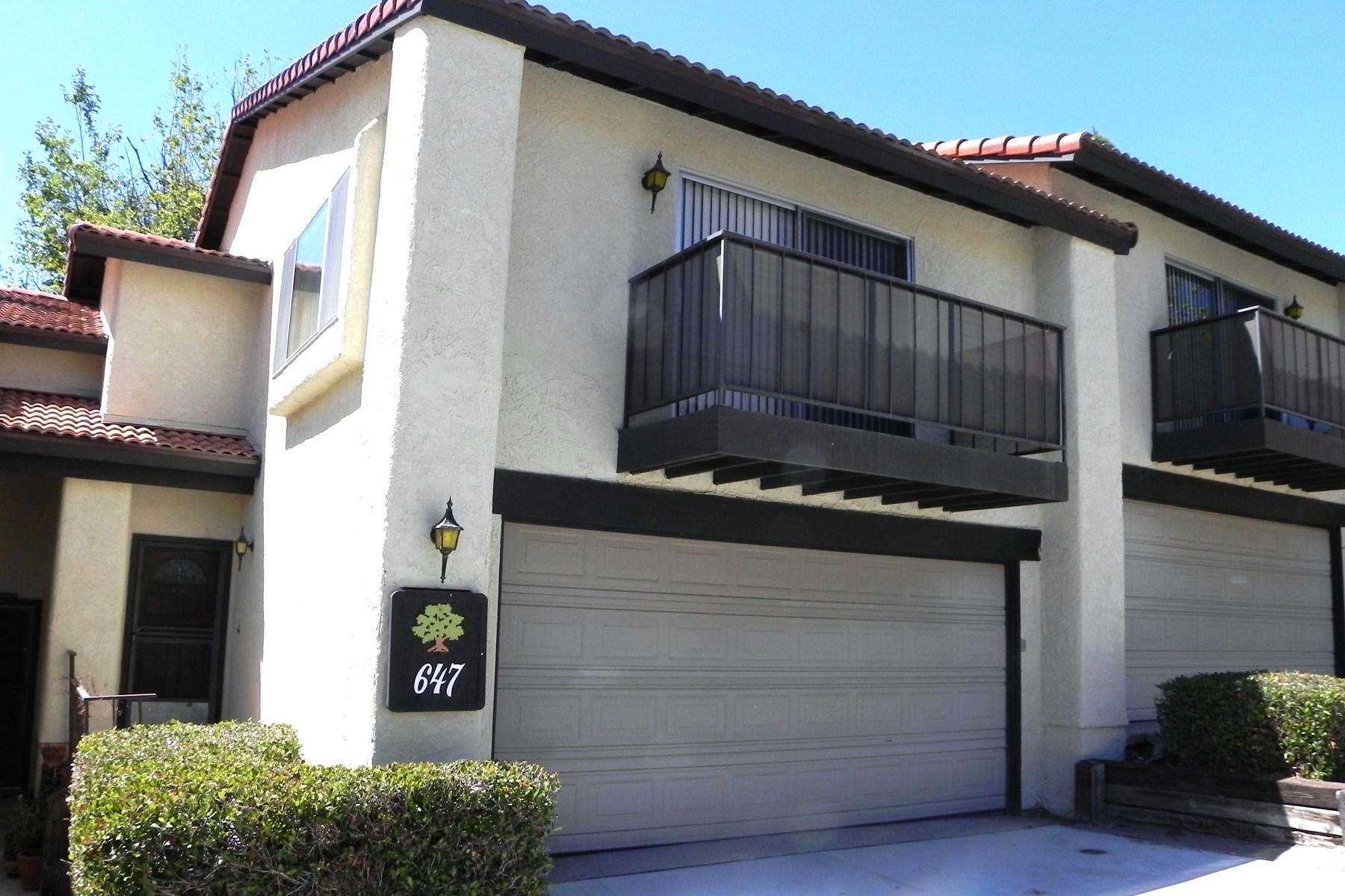 Piso por un Venta en Lovely Three Bedroom Condominium 647 Floral Drive Solvang, California 93463 Estados Unidos
