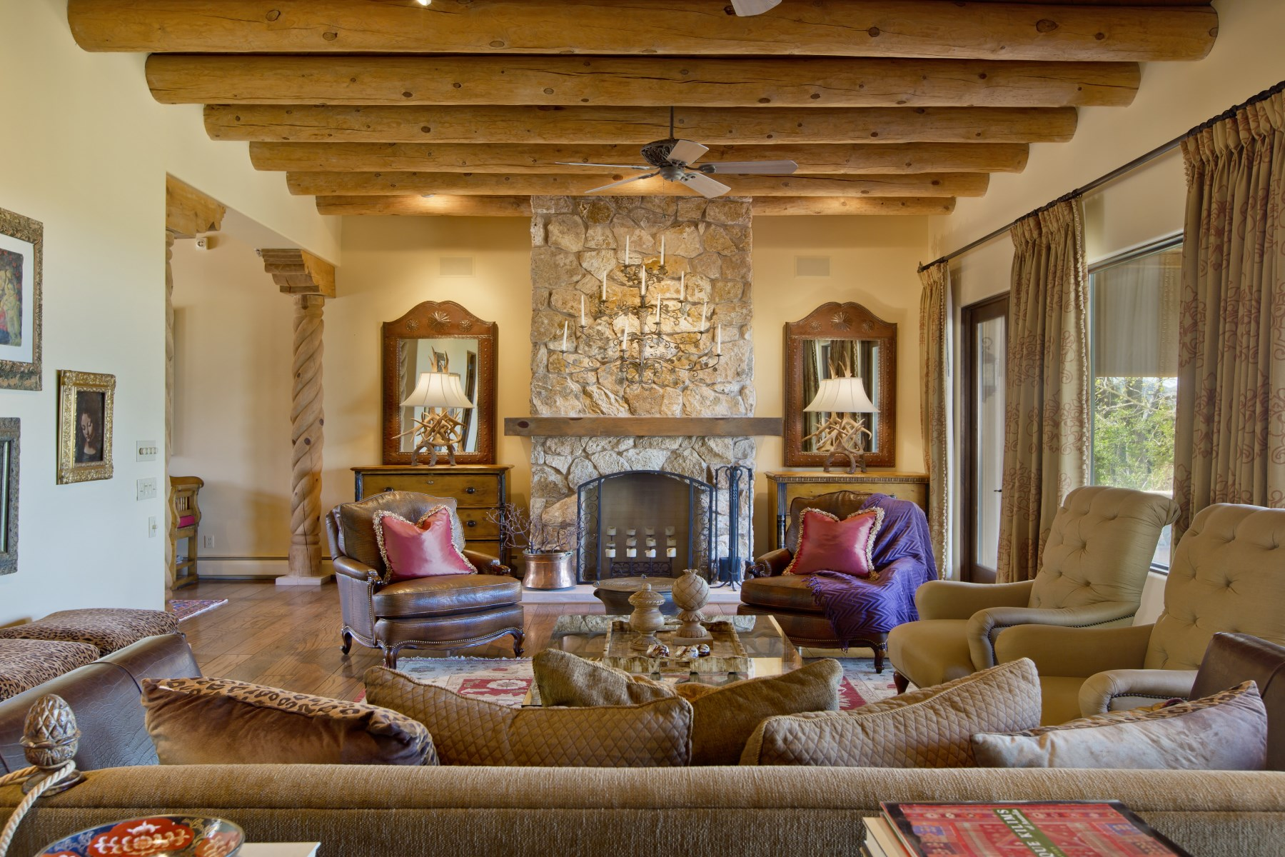 Villa per Vendita alle ore 1024 Mansion Ridge Road Santa Fe City Northeast, Santa Fe, Nuovo Messico 87501 Stati Uniti