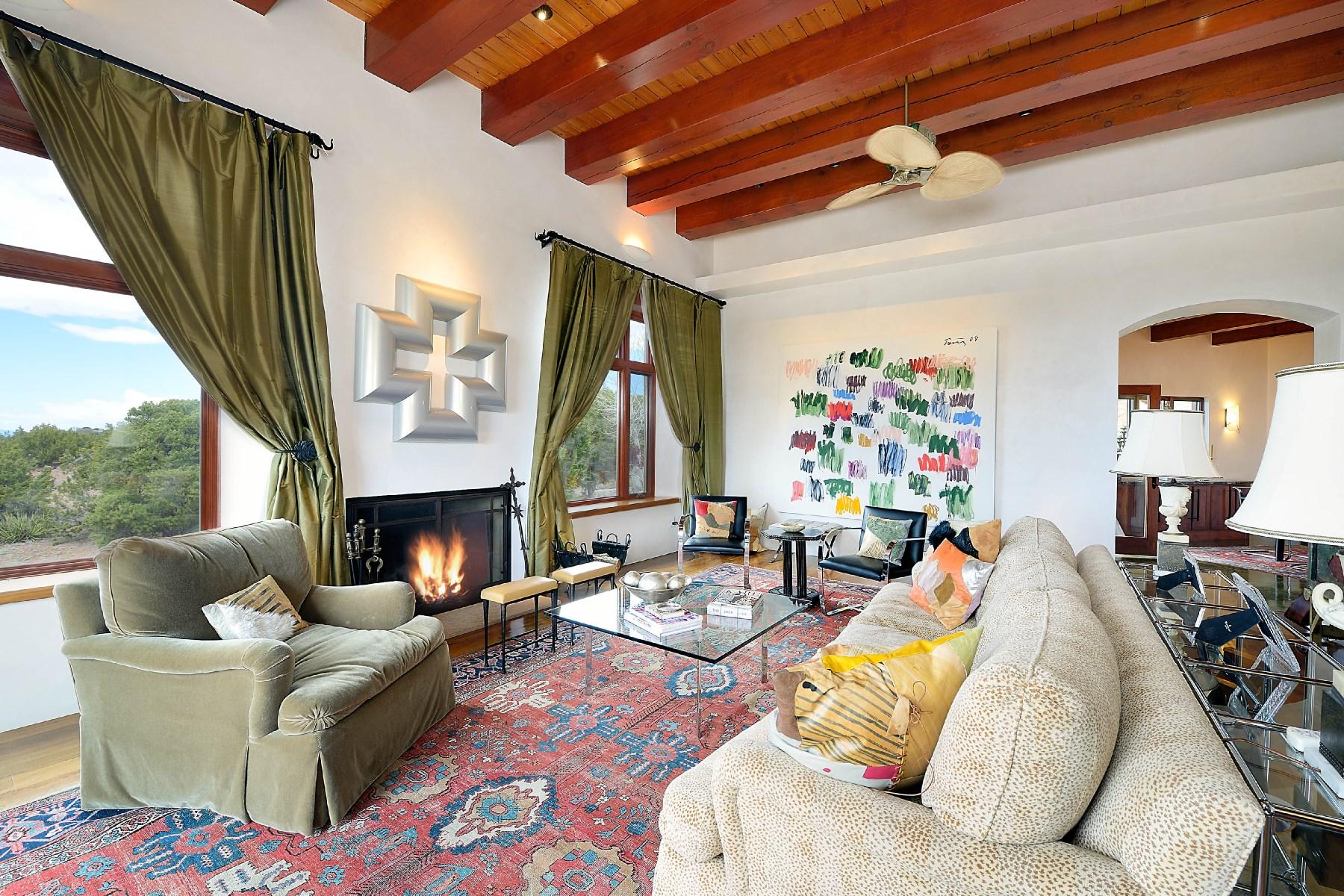 Single Family Home for Sale at 7317-C Old Santa Fe Trail Santa Fe, New Mexico, 87505 United States
