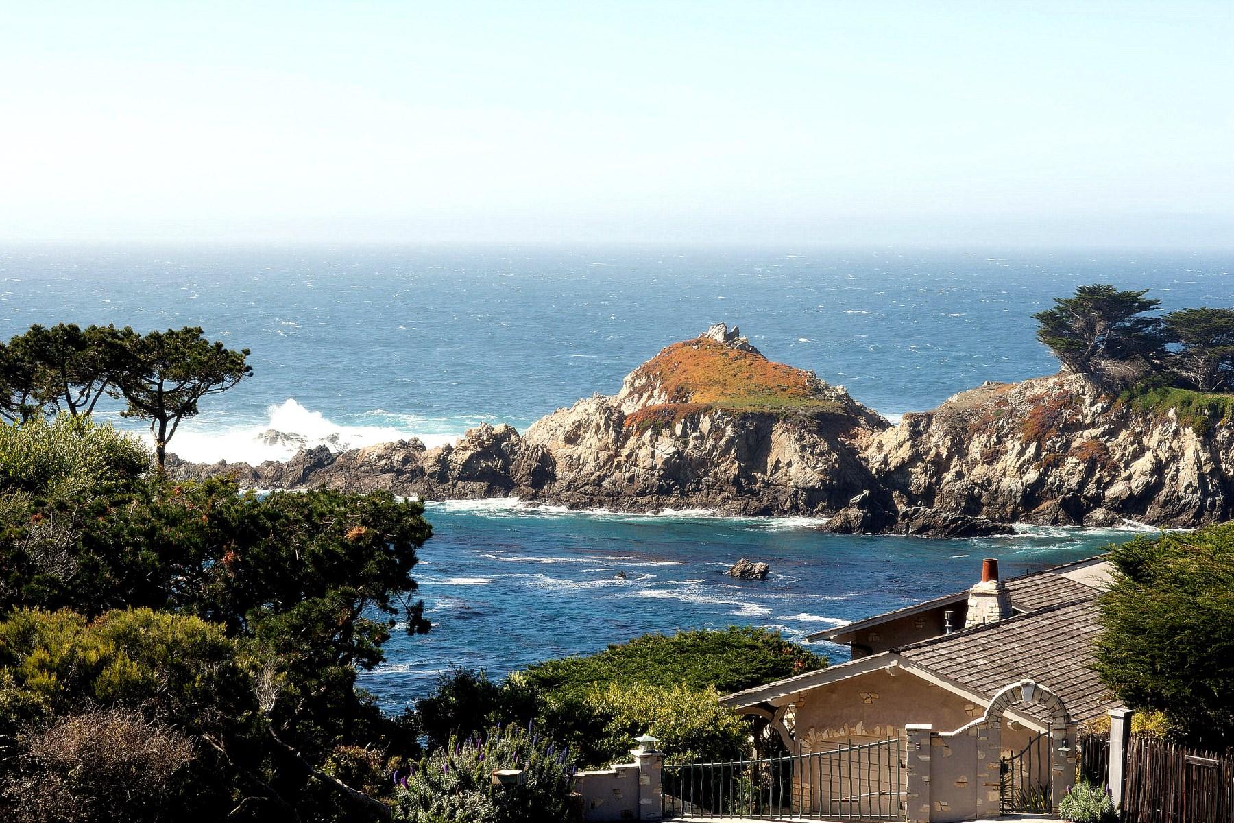 Maison unifamiliale pour l Vente à Paradise Found 2 Yankee Beach Way Carmel, Californie, 93923 États-Unis