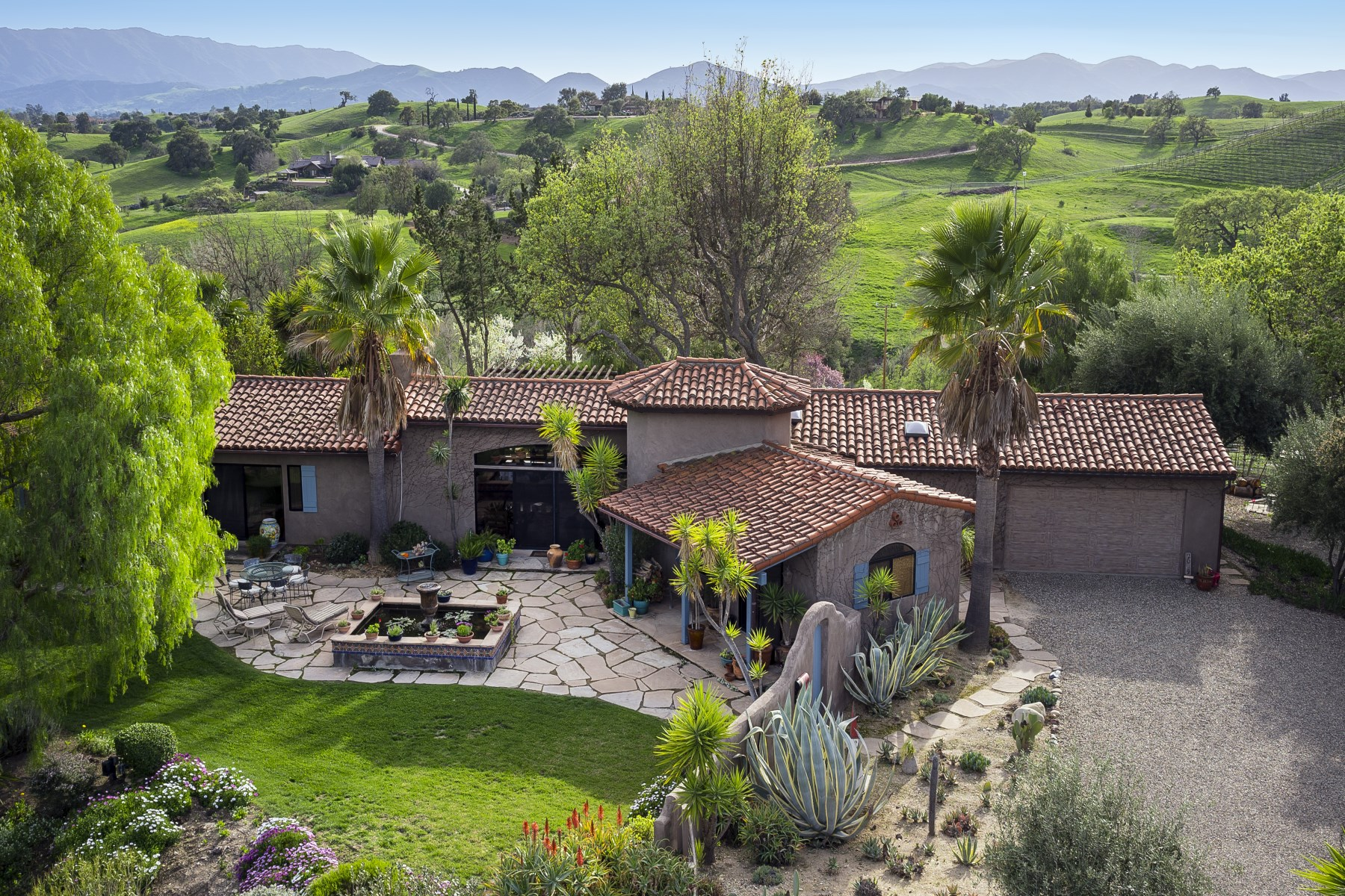 Farm / Ranch / Plantation for Sale at Santa Ynez Valley Vineyard Estate 2009 Random Oaks Road Ballard, California, 93463 United States