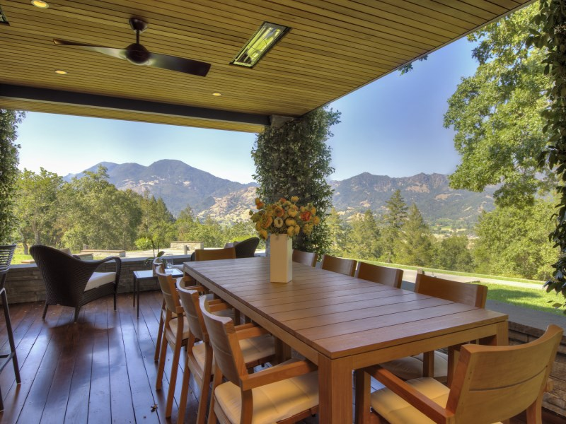 Single Family Home for Sale at Sophisticated Elegance in Calistoga 3145 State Highway 128 Calistoga, California 94515 United States