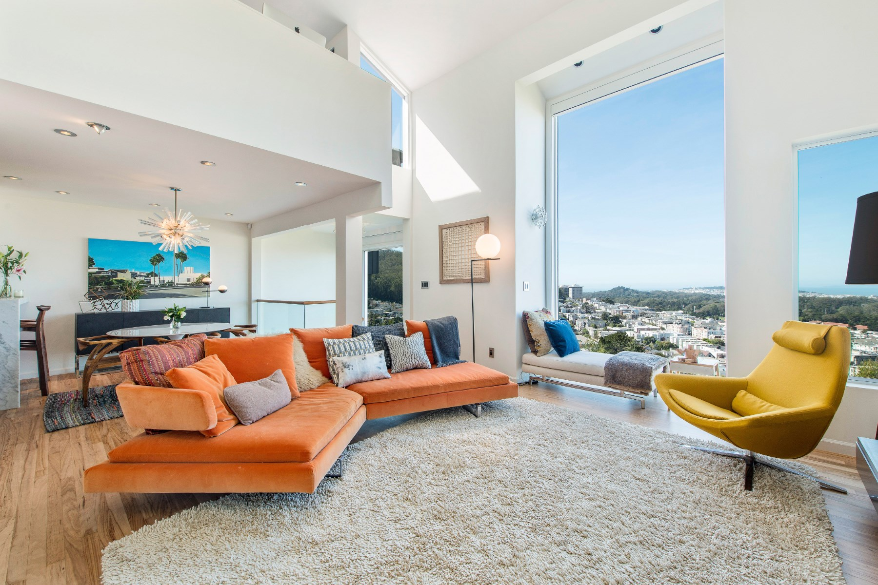 Single Family Home for Sale at Exquisite Modern Home in Ashbury Heights 389 Upper Ter Haight Ashbury, San Francisco, California, 94117 United States