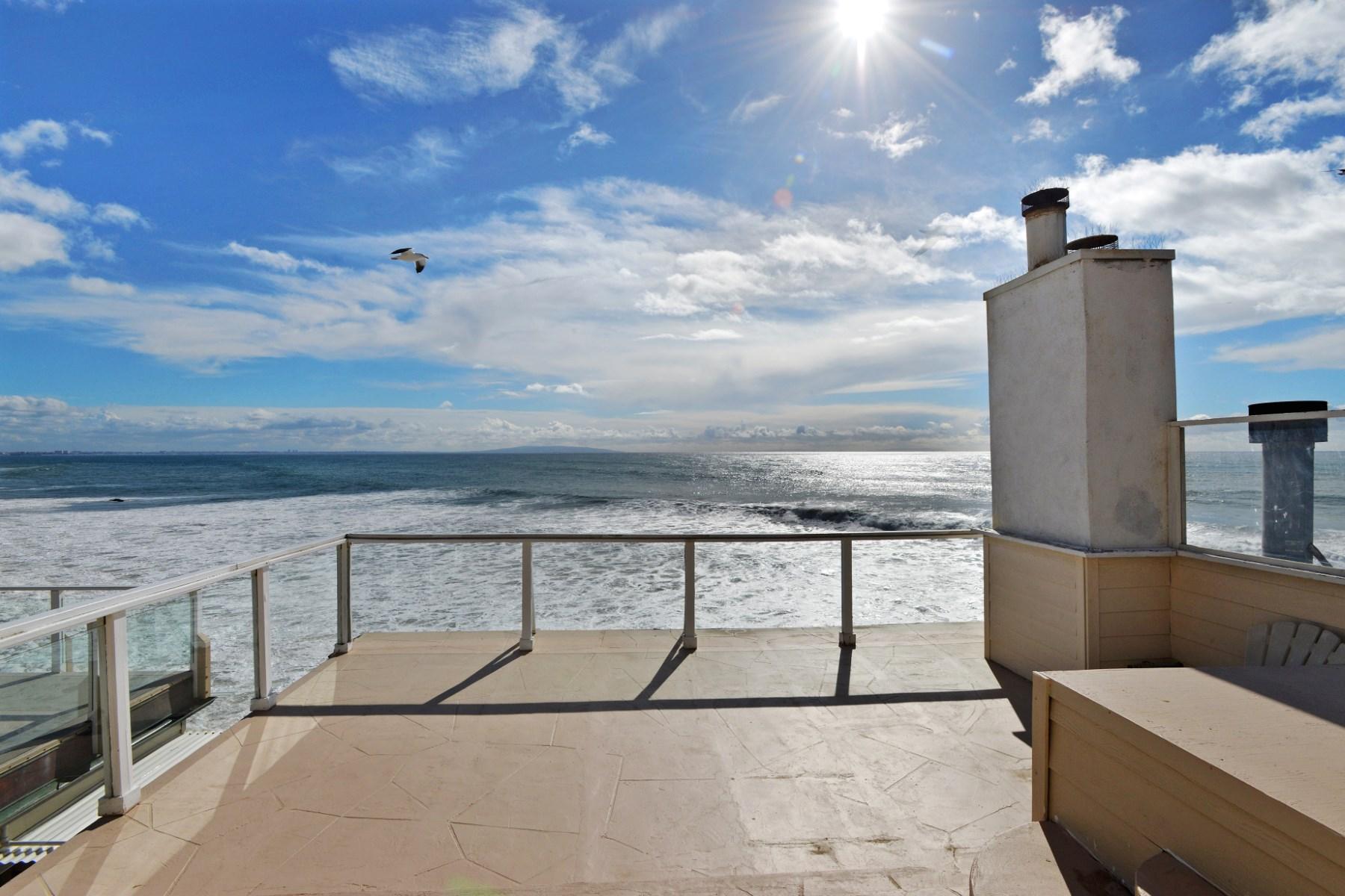 Maison unifamiliale pour l Location à Rental on Las Tunas 19302 Pacific Coast Hwy Malibu, Californie 90265 États-Unis