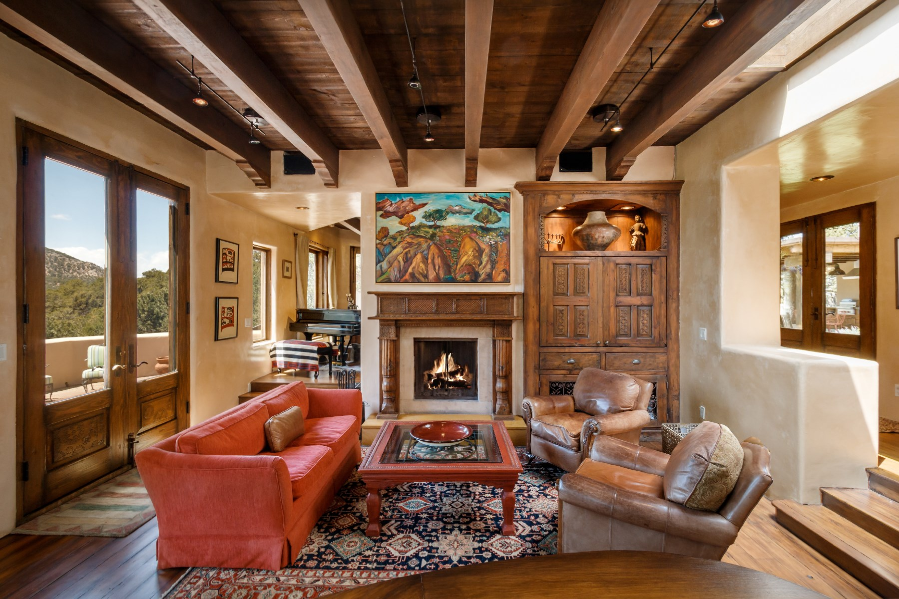 Vivienda unifamiliar por un Venta en 1490 Wilderness Gate Road Santa Fe City Southeast, Santa Fe, Nuevo Mexico 87505 Estados Unidos