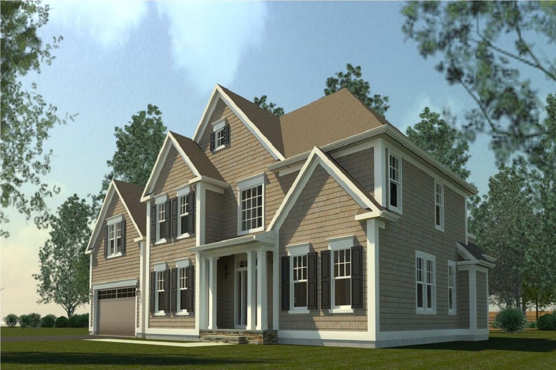 Casa para uma família para Venda às A New Home for The New Year 41 Riverside Lane Riverside, Connecticut 06878 Estados Unidos