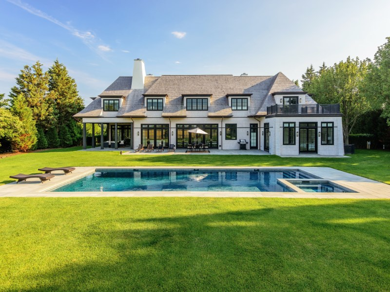 Vivienda unifamiliar por un Venta en Exceptional New Estate, Horse Farm Views Bridgehampton South, Bridgehampton, Nueva York 11932 Estados Unidos