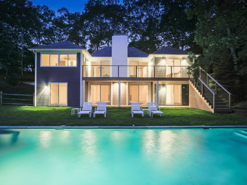 Single Family Home for Sale at Breathtaking Modern Waterfront 13 Clamshell Avenue East Hampton, New York 11937 United States