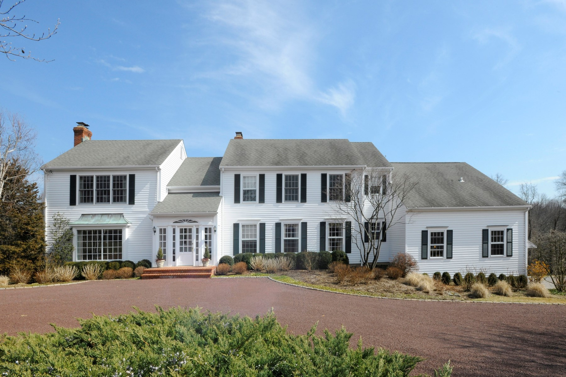 Single Family Home for Sale at 130 Lower Cross Road, Greenwich CT Greenwich, Connecticut, 06831 United States