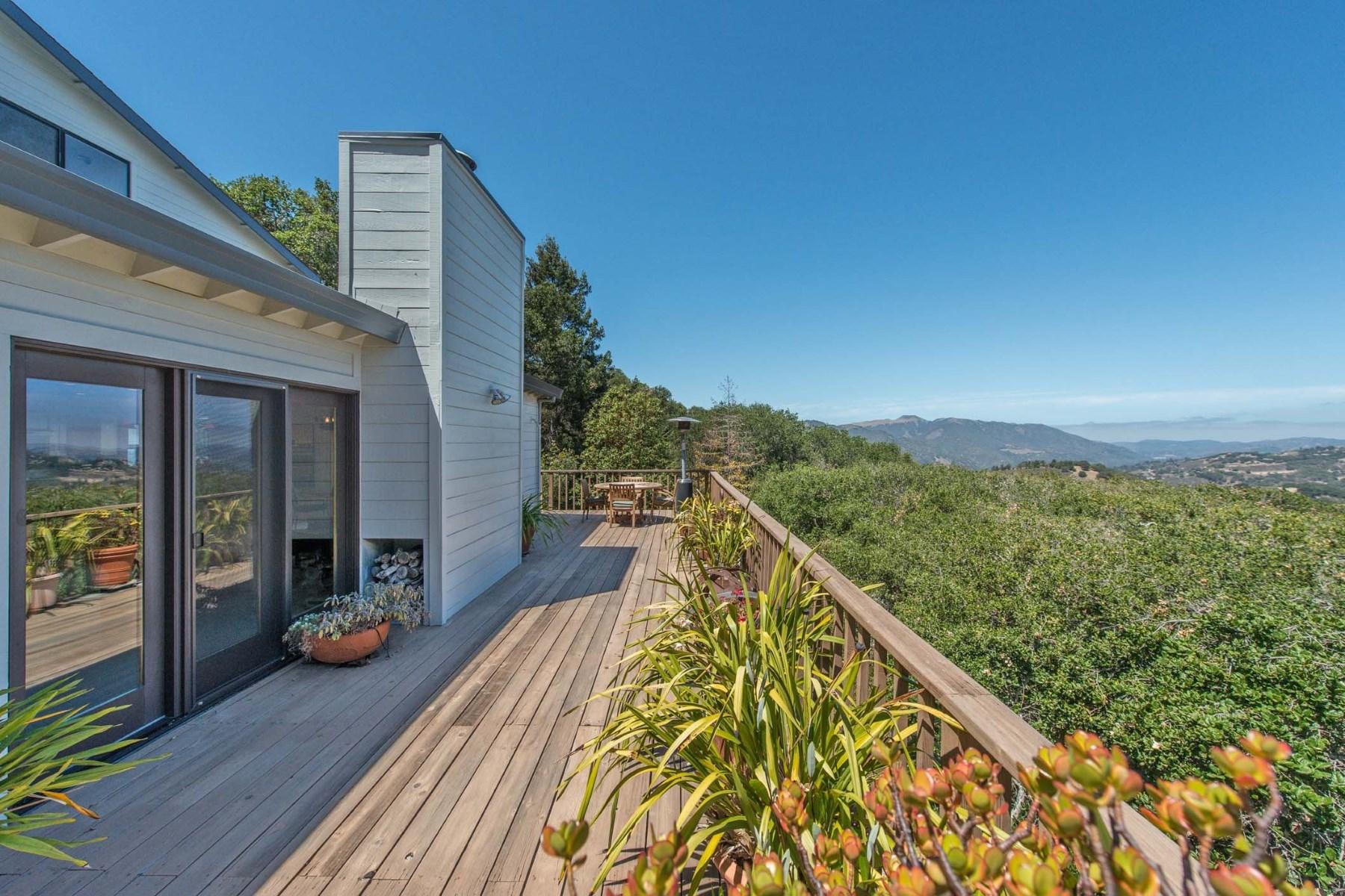 Single Family Home for Sale at Views and Privacy 15467 Via La Gitana Carmel Valley, California, 93924 United States