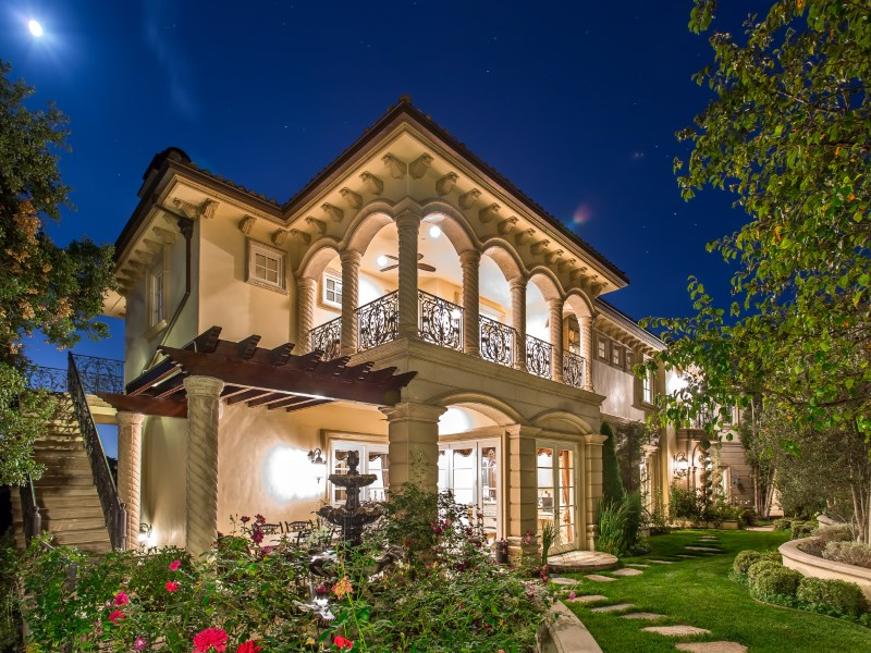 Single Family Home for Sale at Exquisite Mediterranean Estate 2680 Bowmont Drive Beverly Hills, California 90210 United States