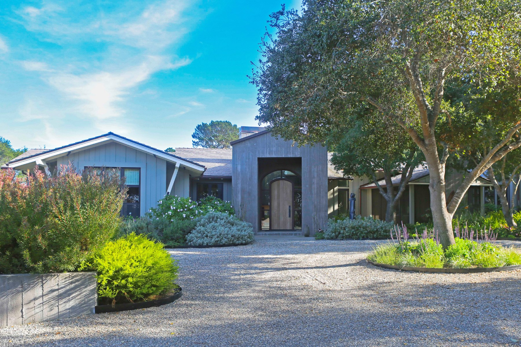 Single Family Home for Sale at Quail Meadows Contemporary 5493 Oak Trail Carmel, California 93923 United States