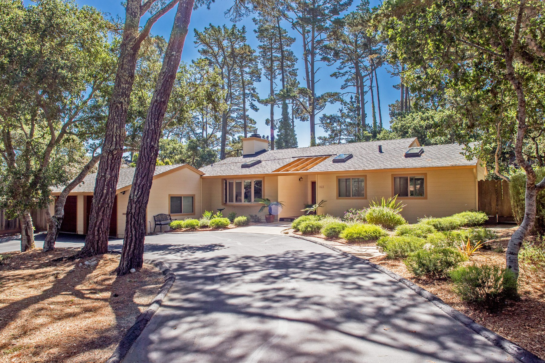 Single Family Home for Sale at Paradise Within Reach in Pebble Beach 1322 Chamisal Way Pebble Beach, California 93953 United States