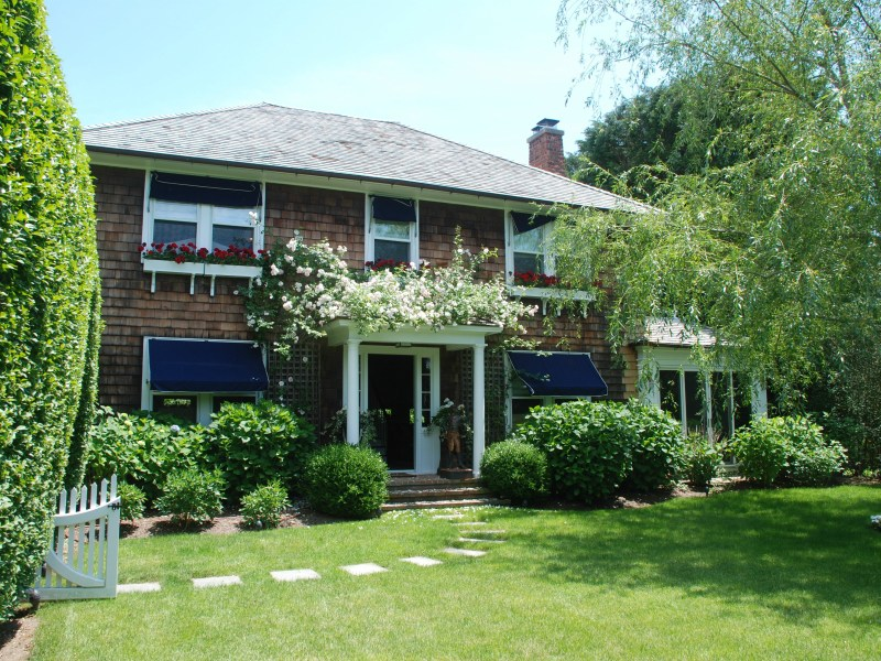 Single Family Home for Rent at Stylish Southampton Village Traditional Southampton, New York 11968 United States