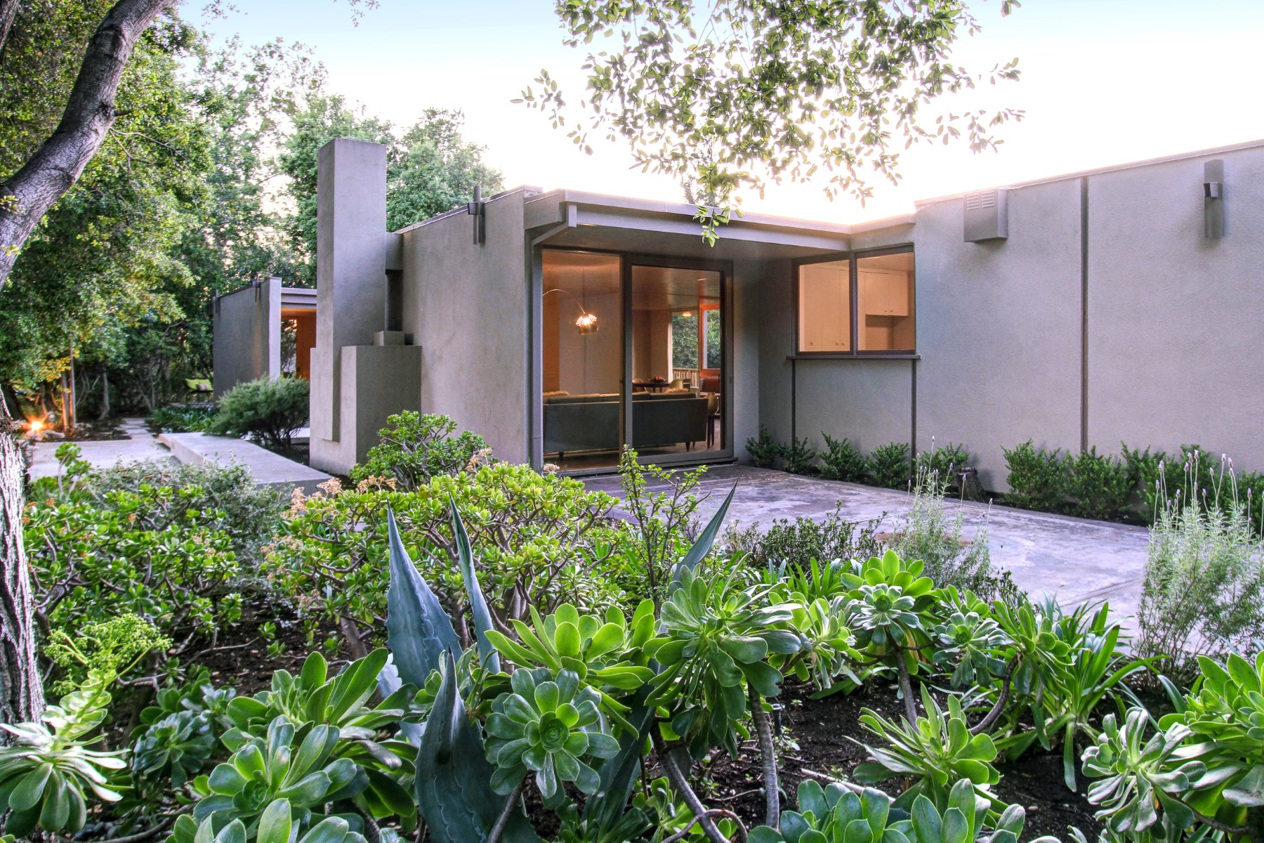 sales property at Mid-Century Modern Sited Above Annendale
