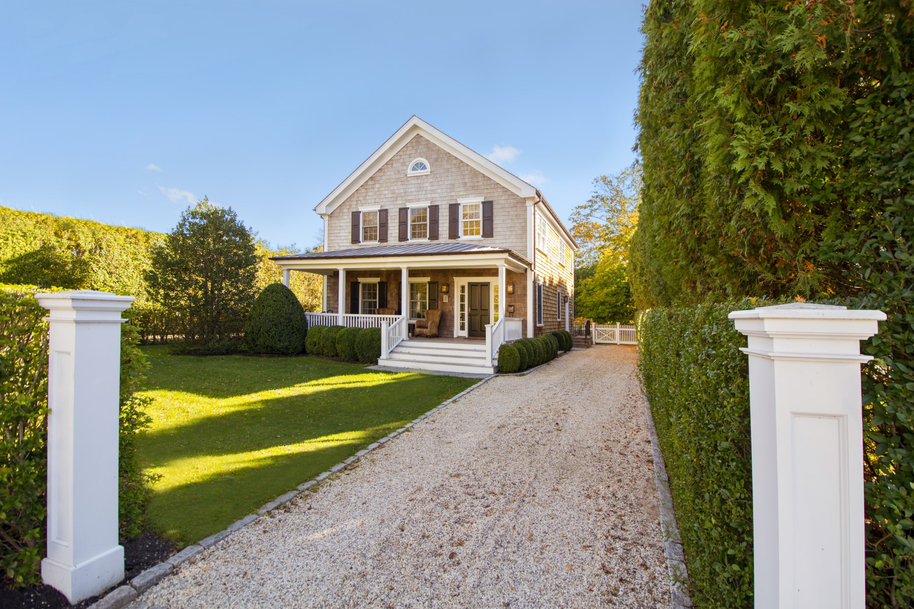 Single Family Home for Sale at Sweet Shingle-Sided Village Traditional 62 Culver Street Southampton, New York, 11968 United States